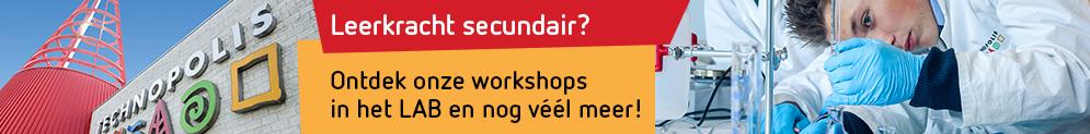 Ontdek de workshops in het Lab van Technopolis
