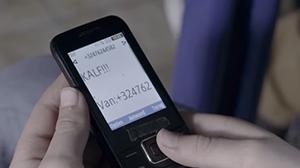 Jongen krijgt een bericht op zijn GSM met de tekst KALF!!!