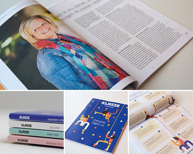 Foto's van het magazine: cover, binnenpagina's, schema's, ...