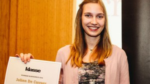 Close-up winnaar Klasseprijs Jolien De Cuyper