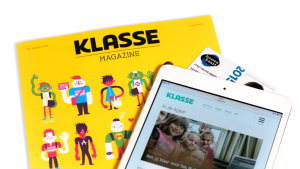 product-shot van Klasse Magazine, Lerarenkaart en Klasse.be
