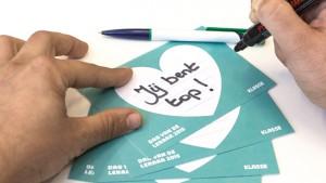 complimentkaartjes voor de Dag van de Leraar 2015
