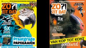 twee covers Zo Zit Dat magazine