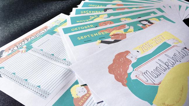 maand- en schoolkalender