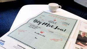 Complimentenbrief in de krant