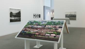 Expo LaToya Ruby Frazier in Mac's Tafel met beelden