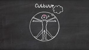 illustratie van Vitruviusman