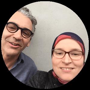 Tom Van Acker en Hakima El Meziane