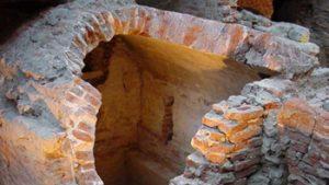 Bruxella 1238 - Overblijfsel van oud bouwwerk