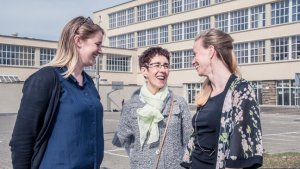 3 vrouwen in gesprek over co-teaching