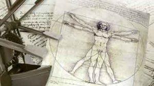 Leonardo da Vinci tekening en maquettes