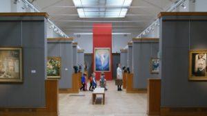 permanente collectie schildereijen in het Museum van Elsenen